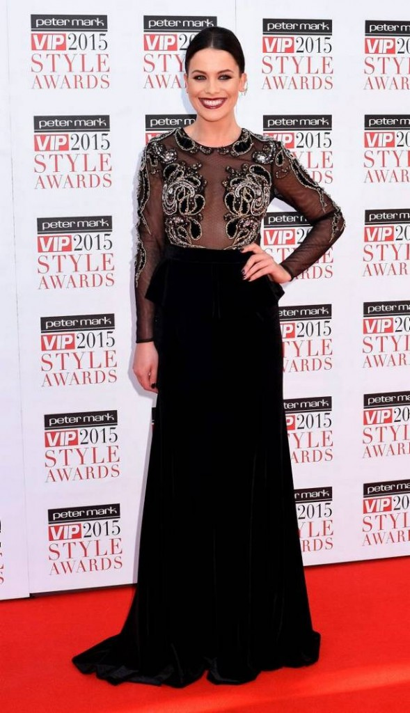 Michelle at the Style Awards on Friday