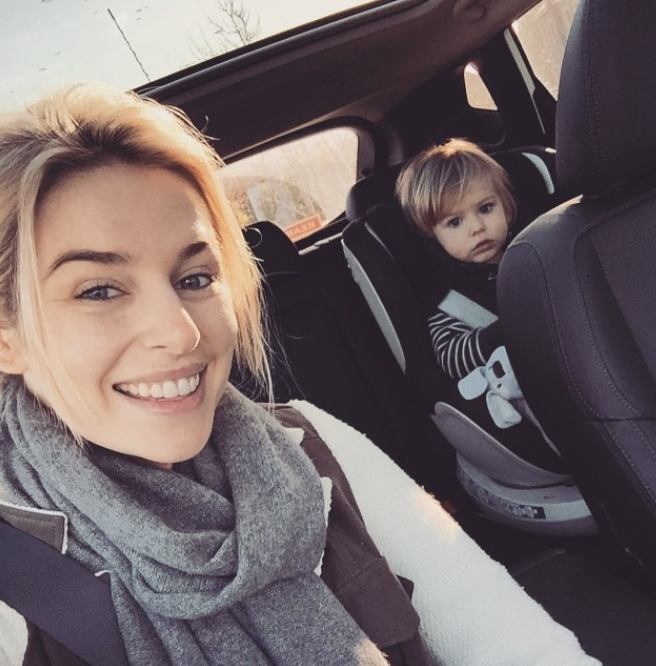 The mum to Ollie says the insight into her normal life is appealing to followers