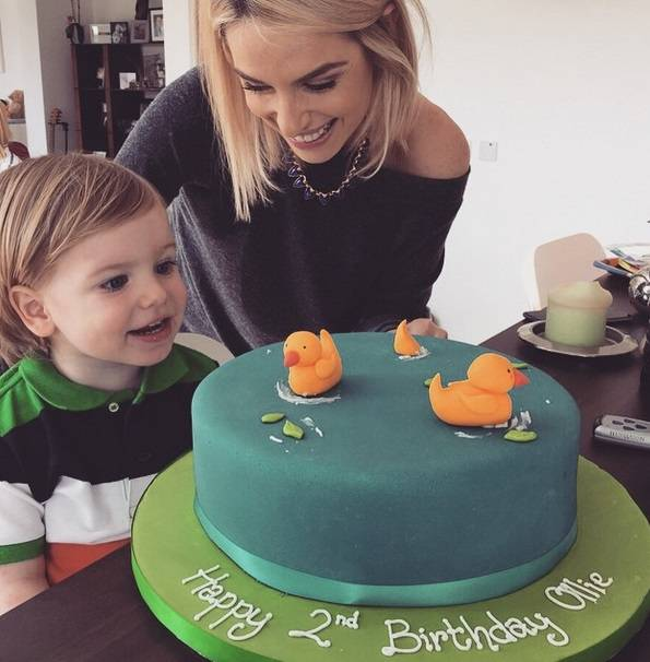 Pippa O'Connor and Ollie
