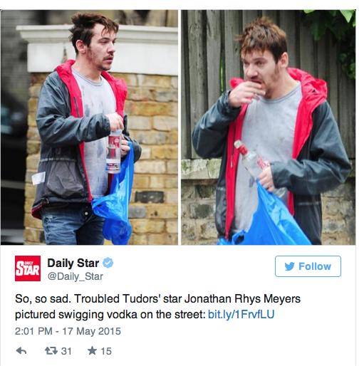 The pictures of the actor that emerged were extremely worrying