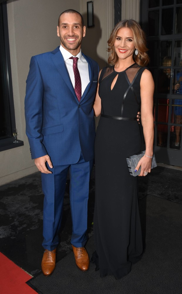 The gorgeous couple at the Pride of Ireland Awards 2015