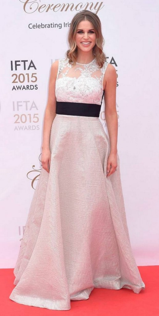 Amy at the IFTAs last night