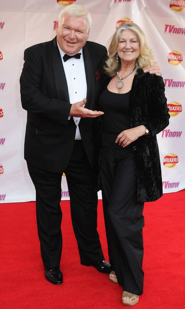 Pictured on the red carpet for 2010's TVNow Awards with Thelma Mansfield