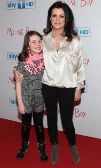 Actress Deirdre O Kane and her daughter Holly