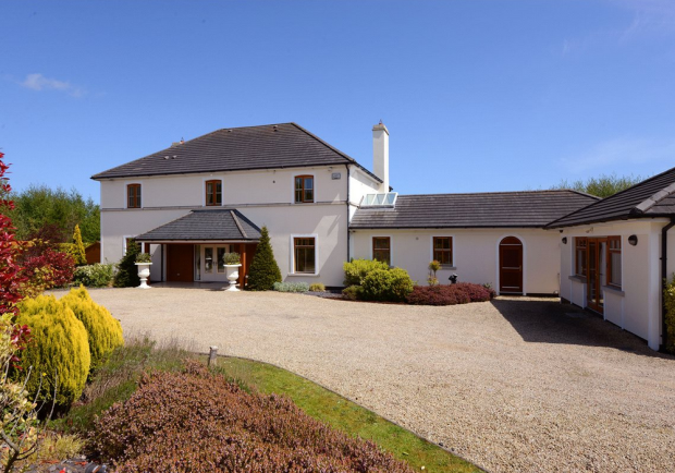 The stunning house up for sale