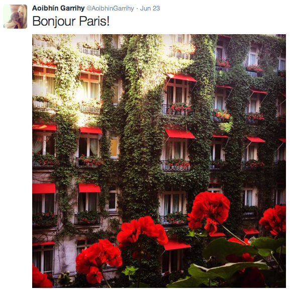 Paris - the perfect destination for the loved up couple
