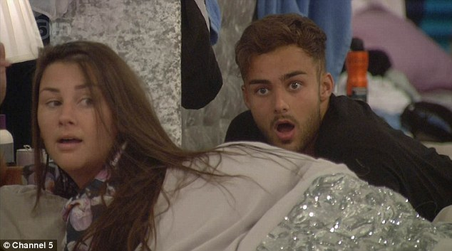 Her fellow housemates looked SHOCKED!