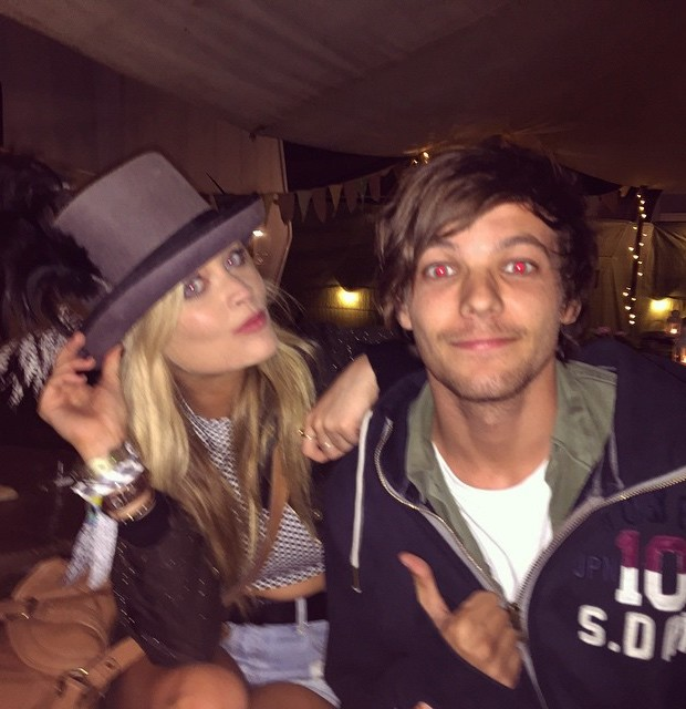 Laura and One Direction's Louis Tomlinson