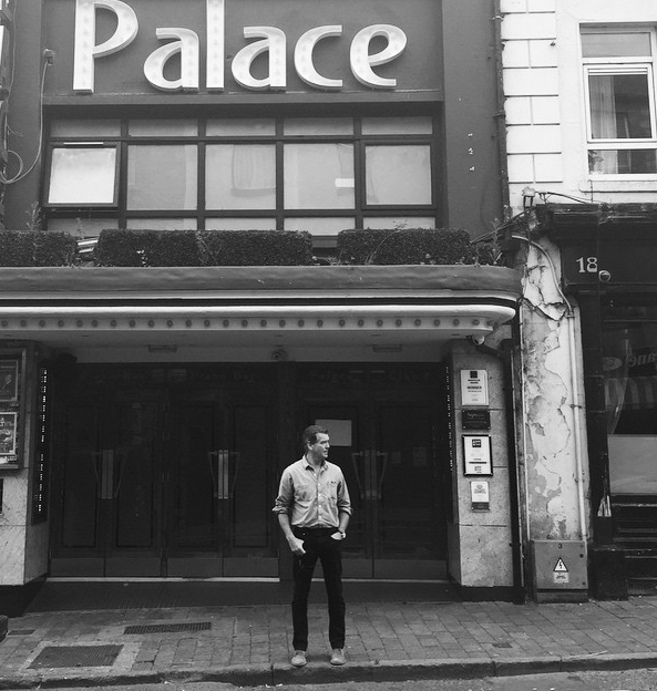 """Pierce captioned this shot: """"Palace Theatre Navan Co. Meath Eire...where I watched movies as boy"""""""