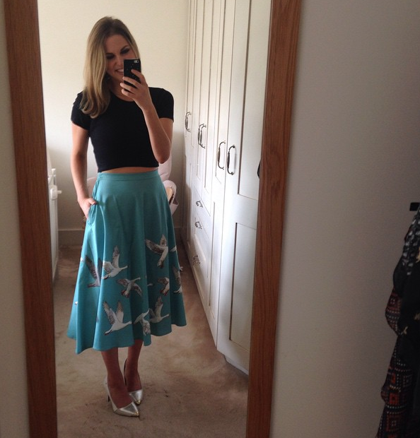 We just love Amy's style - here's another gorge selfie she shared recently