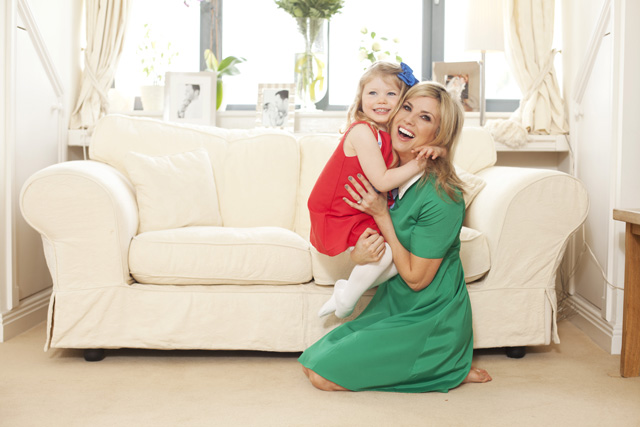 Jenny and her little girl Jude in this Howth home!