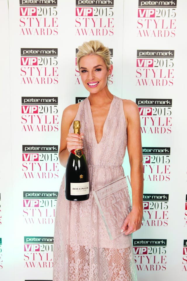 Last year's Most Stylish Woman Pippa O'Connor