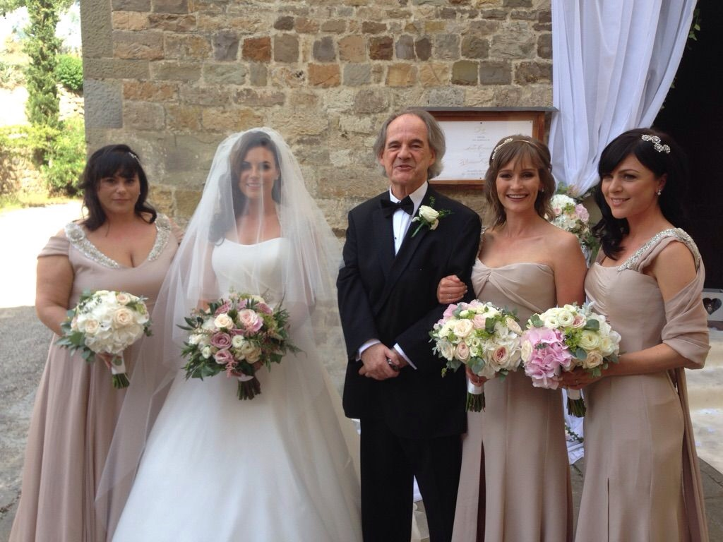 Lisa and her bridal party