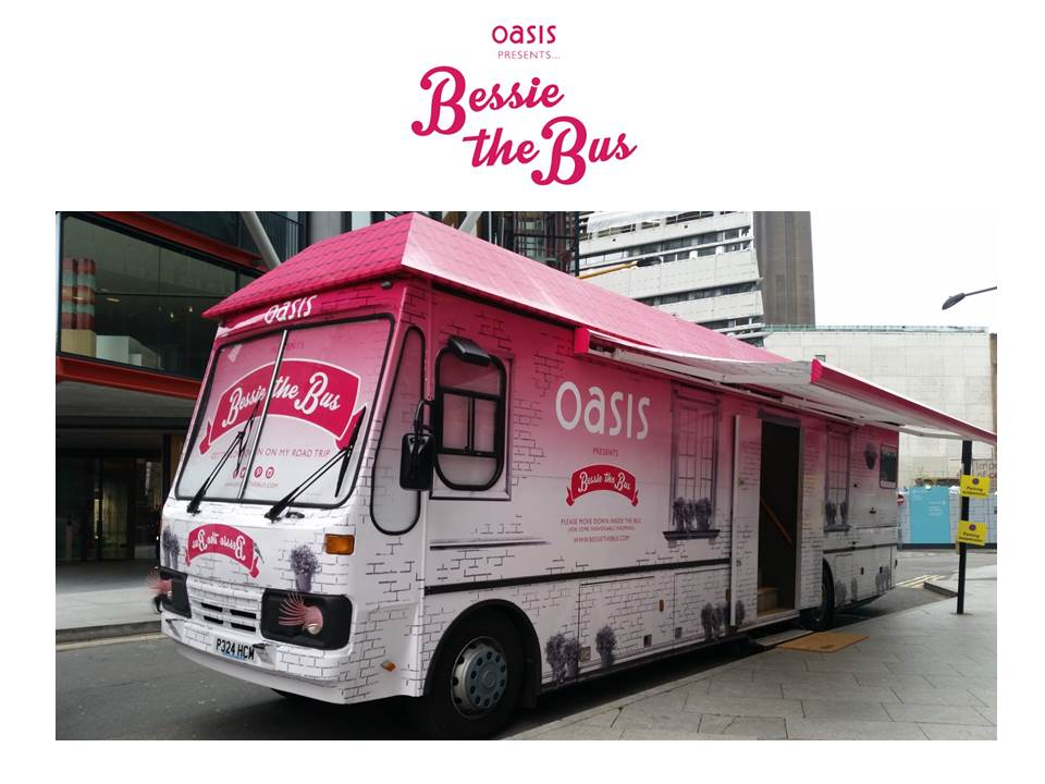 We're exited to check out Bessie The Bus!