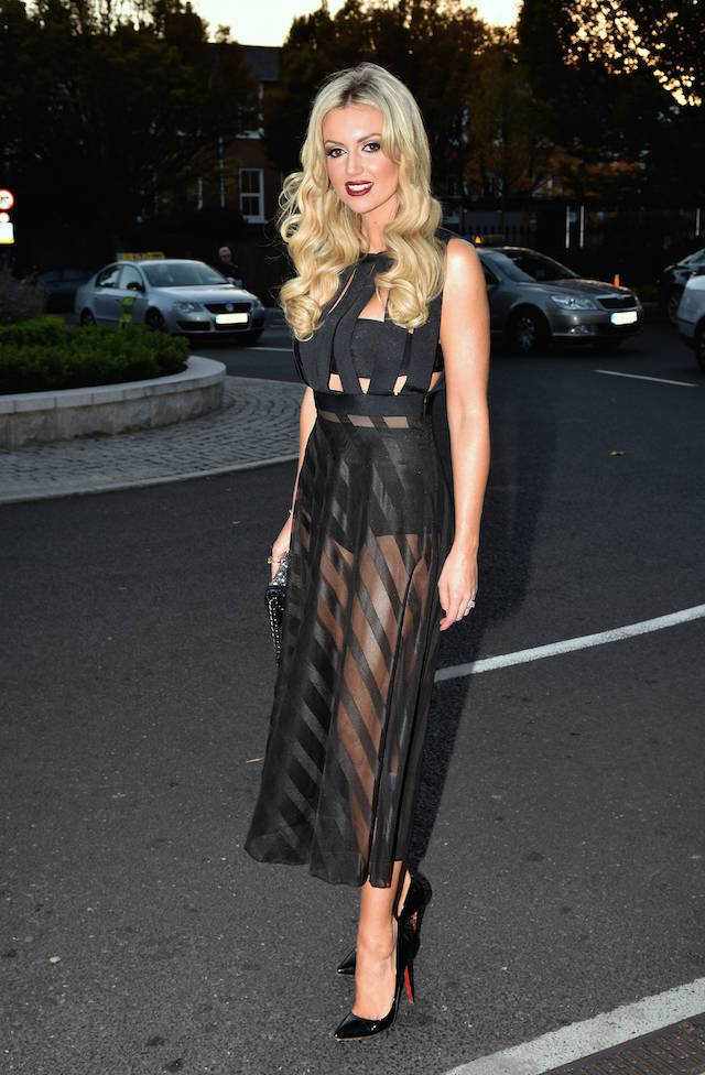 Guests attend The IFTA Awards 2015
