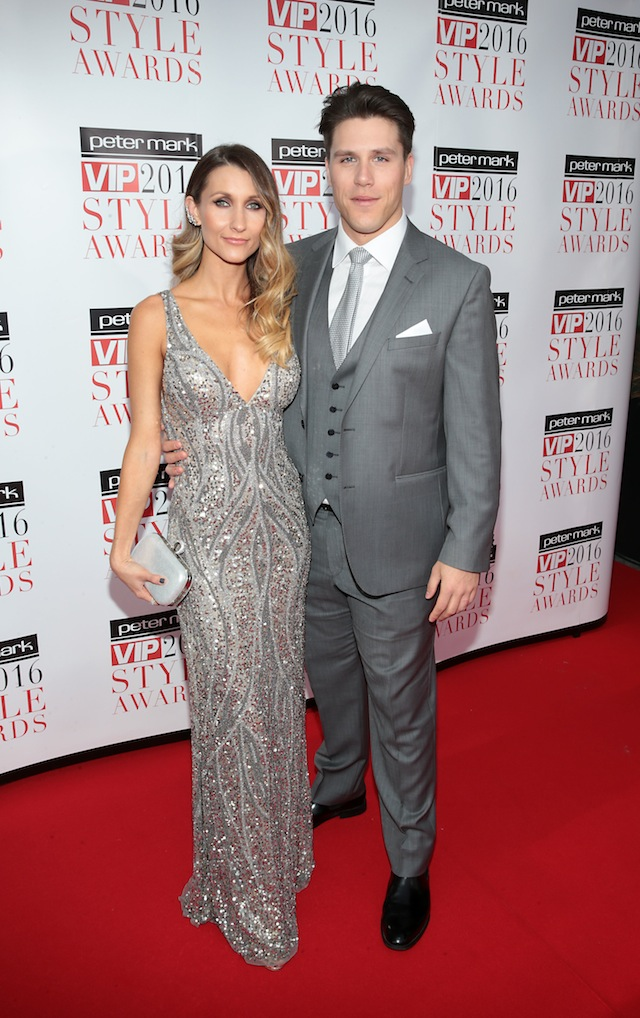 Stephanie & Peter O'Riordan at the Peter Mark VIP Style Awards recently