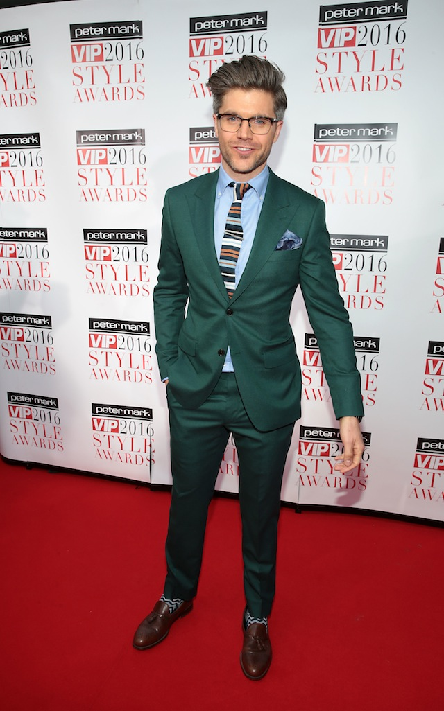 Darren at the VIP Style Awards last year