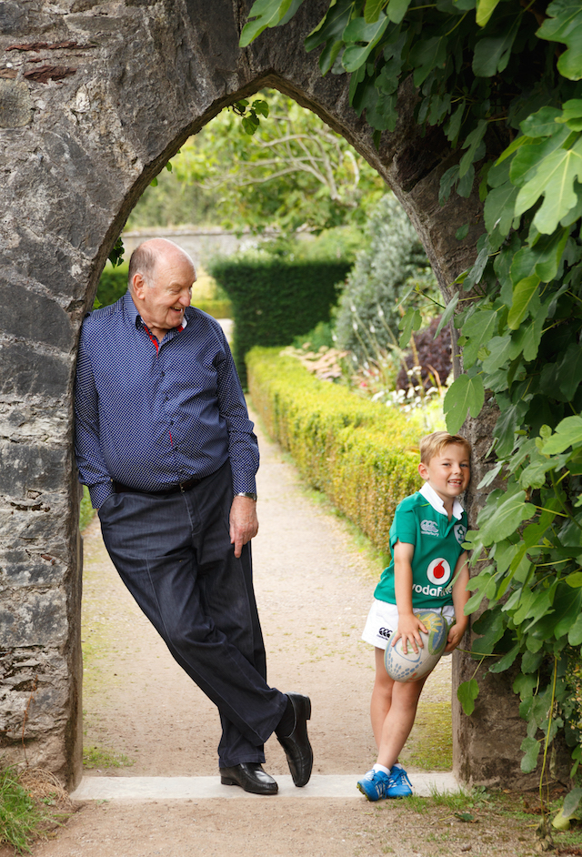 He's excited to be able to collect his grandchildren from school. PIC: Claire O'Rorke