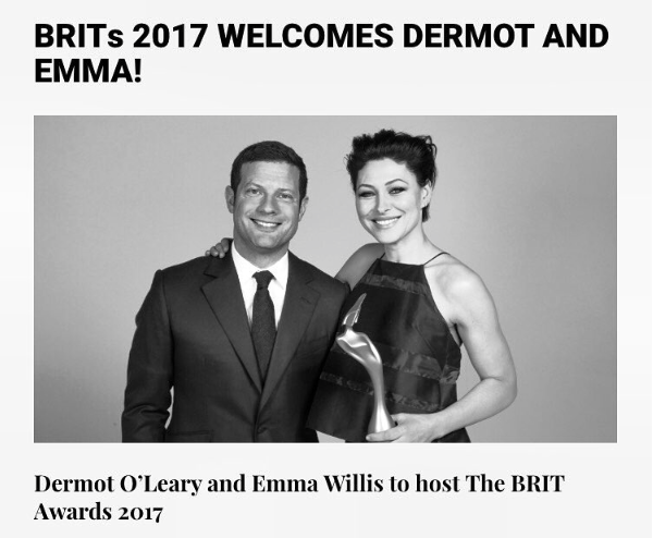 Dermot shred the exciting news on Instagram earlier today