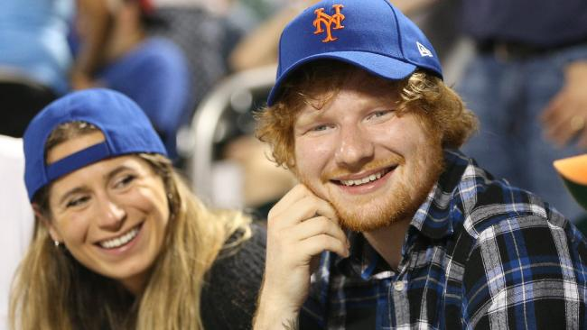 Ed with his lovely girlfriend.