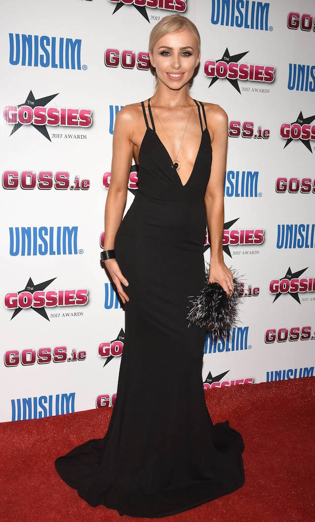 Guests attend The Gossies 2017