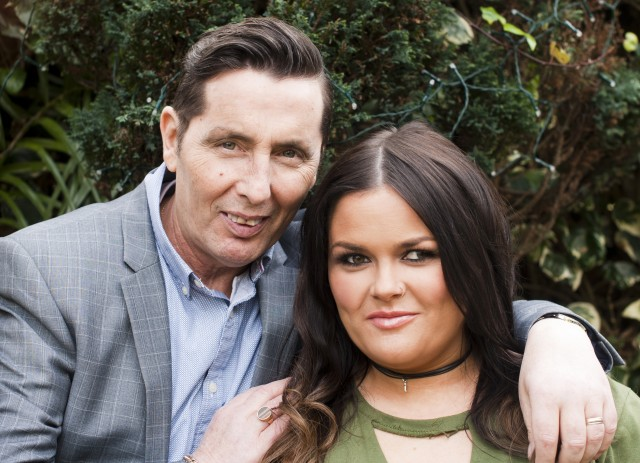 Christy and his daughter Keira. PIC: Lili Forberg for a recent VIP shoot