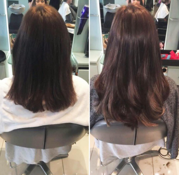 How STUNNING is this hair transformation by Peter Mark?