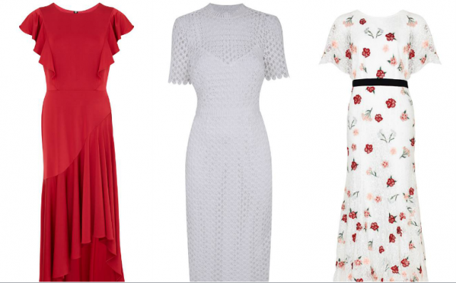 Some of the gorgeous high neck dresses Debenhams have on offer!