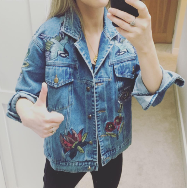 Amy's style is always on point. PIC: Instagram/AmyHuberman