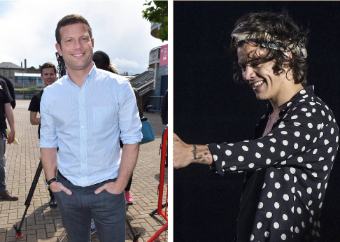 Harry and Dermot met on X Factor Pics: VIP Ireland