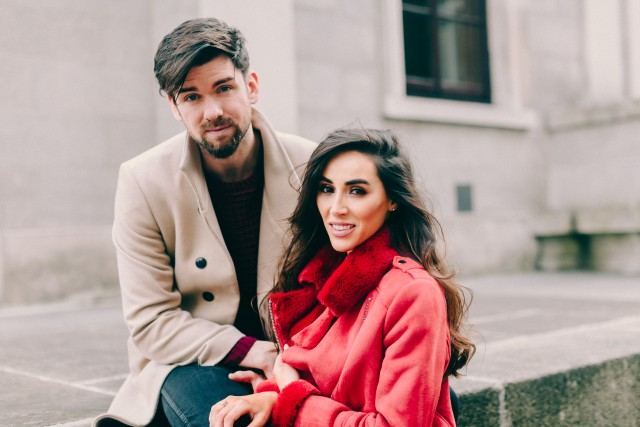 Eoghan and Aoife VIP