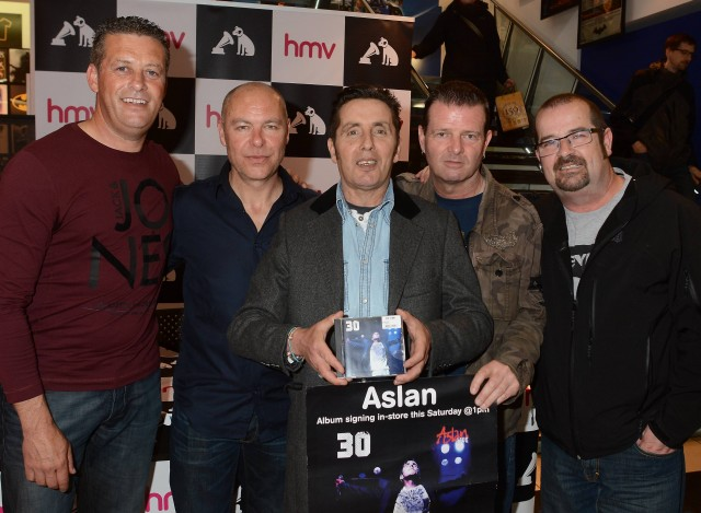 Aslan at HMV Grafton Street