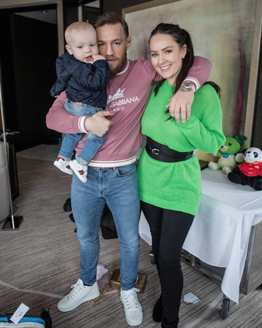 Conor and his family