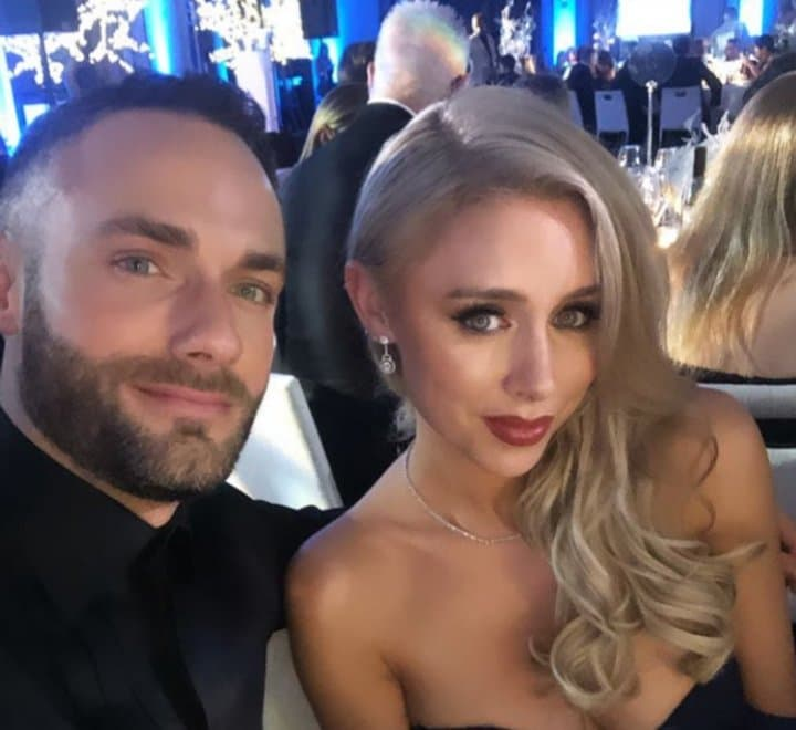 Una Healy Stuns In Blue Gown At Sparks Charity Winter Ball