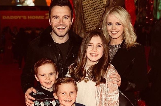 Shane and family