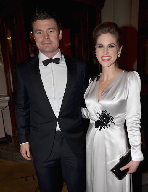 Guests at The IFTA 2012 Awards: Leaving The Shelbourne Hotel