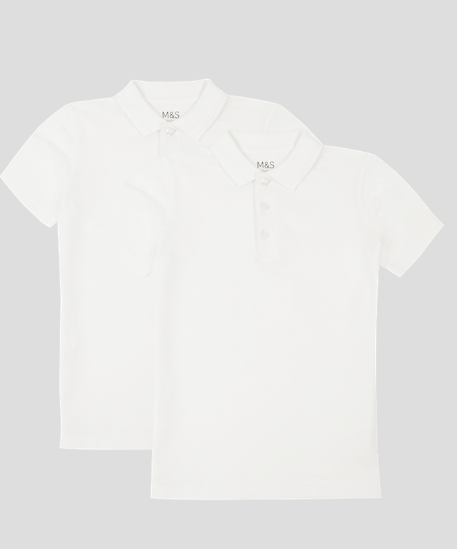 2 Pack stain resistant polo shirts - €9.50 - €17.50