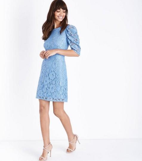 blue-vanilla-pale-blue-lace-puff-sleeve-dress