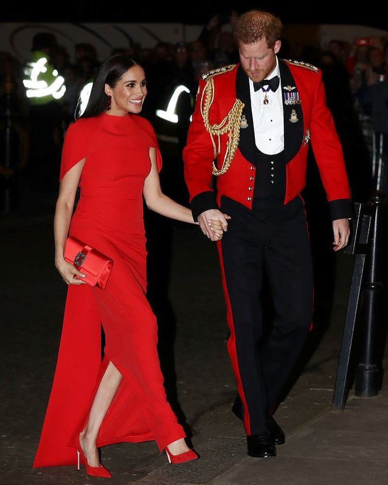 Meghan Markle Makes Final Royal Appearance Wearing This
