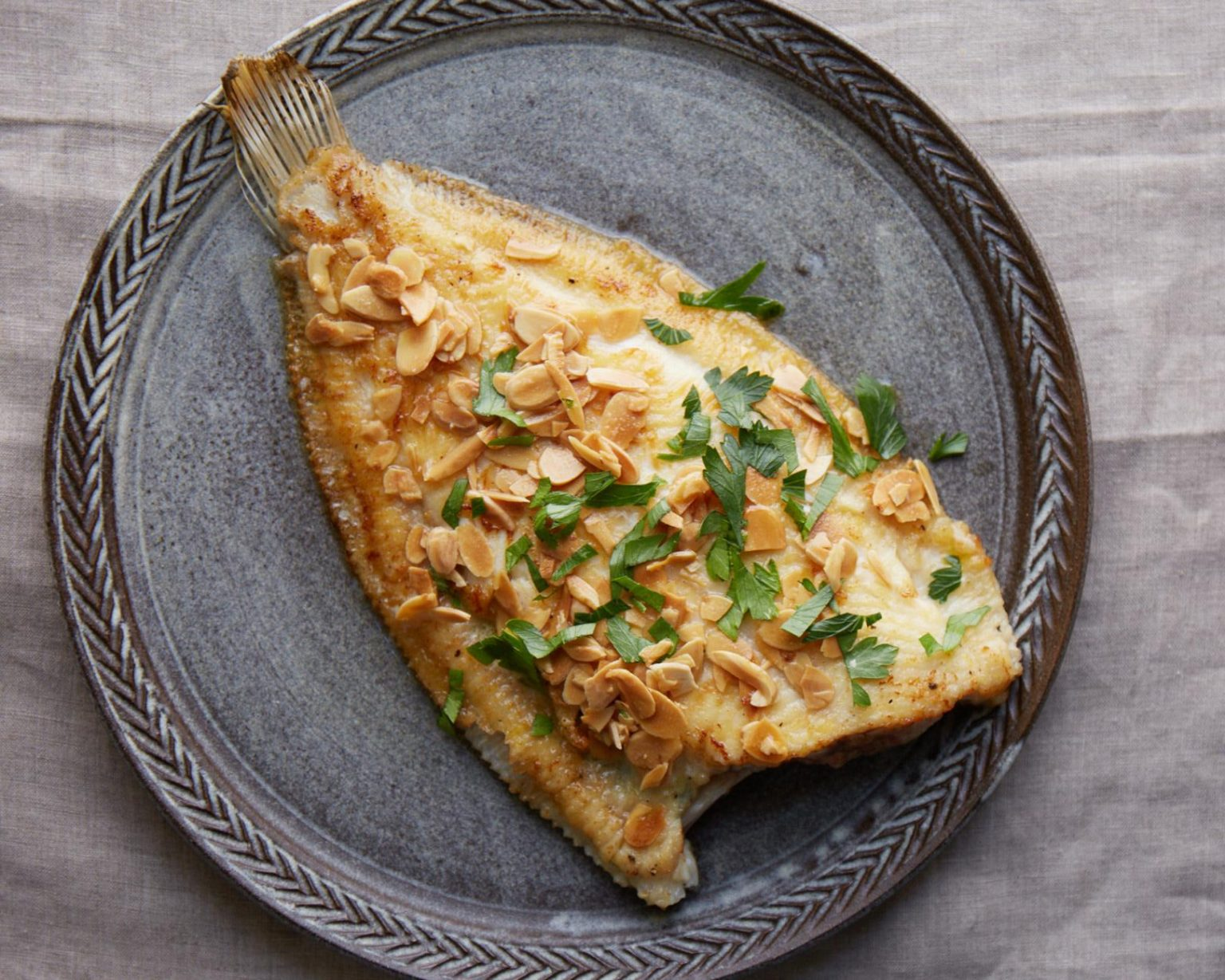 Need some dinner inspo? Try this Lemon Sole with Toasted ...
